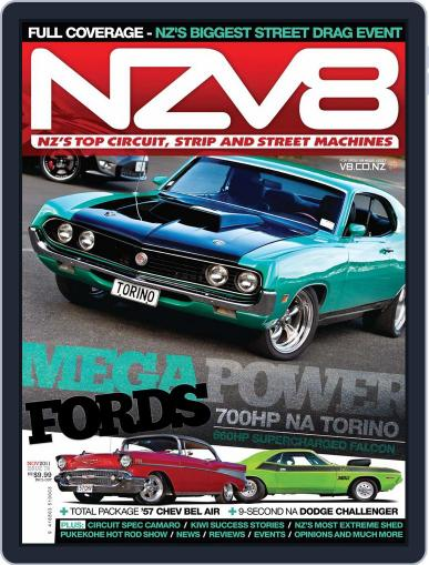 NZV8 (Digital) October 2nd, 2011 Issue Cover