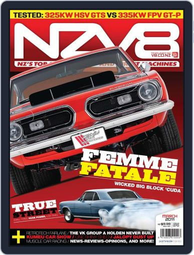 NZV8 February 13th, 2011 Digital Back Issue Cover