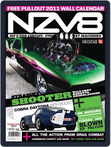 NZV8 January 5th, 2011 Digital Back Issue Cover