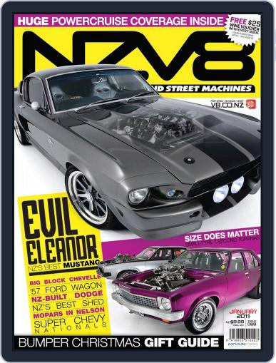 NZV8 (Digital) November 28th, 2010 Issue Cover