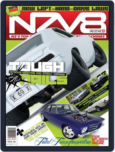 NZV8 (Digital) June 13th, 2010 Issue Cover