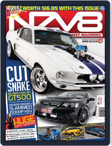 NZV8 January 13th, 2010 Digital Back Issue Cover