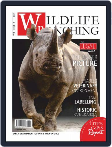 PRIVATE GAME | WILDLIFE RANCHING (Digital) October 1st, 2019 Issue Cover