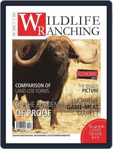 PRIVATE GAME | WILDLIFE RANCHING (Digital) April 1st, 2019 Issue Cover