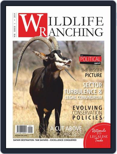 PRIVATE GAME   WILDLIFE RANCHING (Digital) February 1st, 2019 Issue Cover