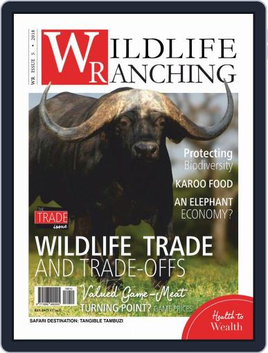 PRIVATE GAME | WILDLIFE RANCHING (Digital) October 1st, 2018 Issue Cover