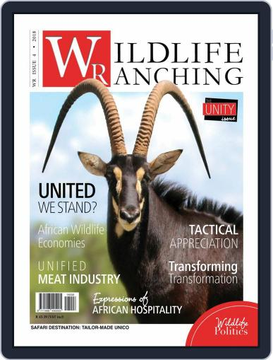 PRIVATE GAME | WILDLIFE RANCHING (Digital) August 1st, 2018 Issue Cover
