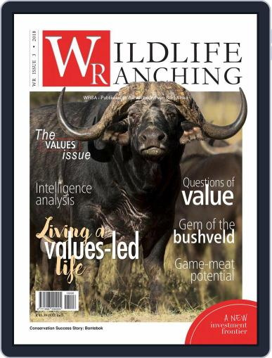 PRIVATE GAME | WILDLIFE RANCHING (Digital) June 1st, 2018 Issue Cover