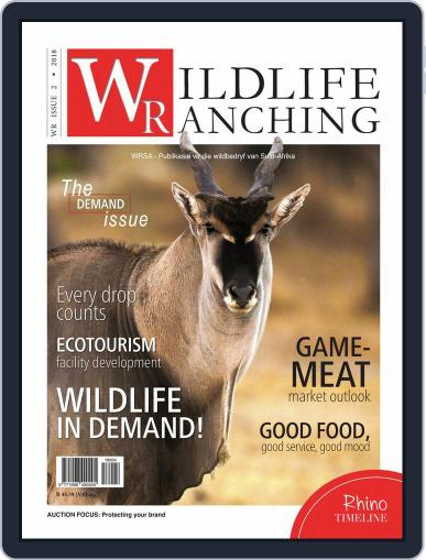 PRIVATE GAME | WILDLIFE RANCHING (Digital) April 1st, 2018 Issue Cover