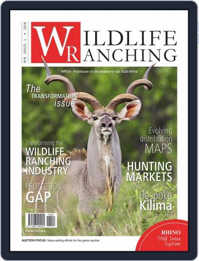 PRIVATE GAME | WILDLIFE RANCHING (Digital) February 1st, 2018 Issue Cover