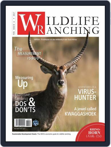 PRIVATE GAME | WILDLIFE RANCHING (Digital) January 1st, 2018 Issue Cover