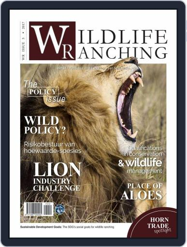 PRIVATE GAME | WILDLIFE RANCHING (Digital) December 1st, 2017 Issue Cover