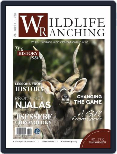 PRIVATE GAME | WILDLIFE RANCHING (Digital) November 1st, 2016 Issue Cover