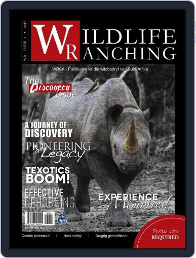 PRIVATE GAME   WILDLIFE RANCHING (Digital) June 8th, 2016 Issue Cover