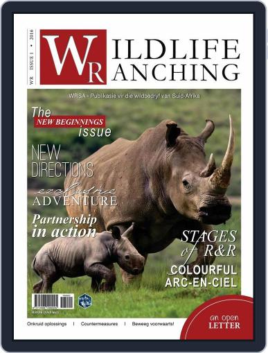 PRIVATE GAME | WILDLIFE RANCHING (Digital) February 12th, 2016 Issue Cover