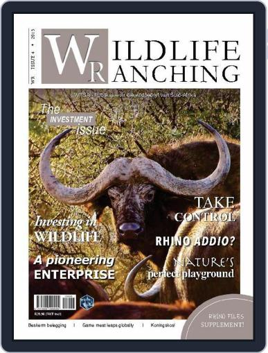 PRIVATE GAME | WILDLIFE RANCHING August 23rd, 2015 Digital Back Issue Cover