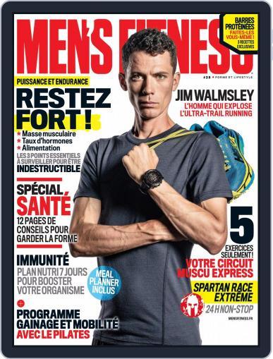 Men's Fitness - France September 1st, 2018 Digital Back Issue Cover
