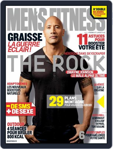 Men's Fitness - France (Digital) August 1st, 2018 Issue Cover