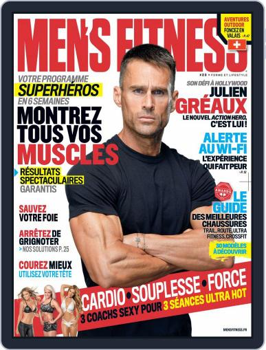 Men's Fitness - France (Digital) April 1st, 2018 Issue Cover