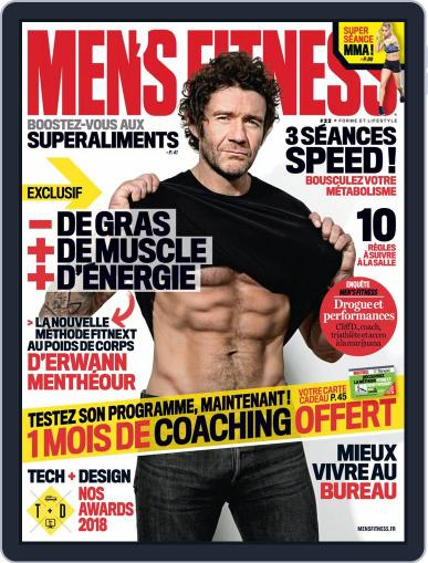 Men's Fitness - France (Digital) March 1st, 2018 Issue Cover