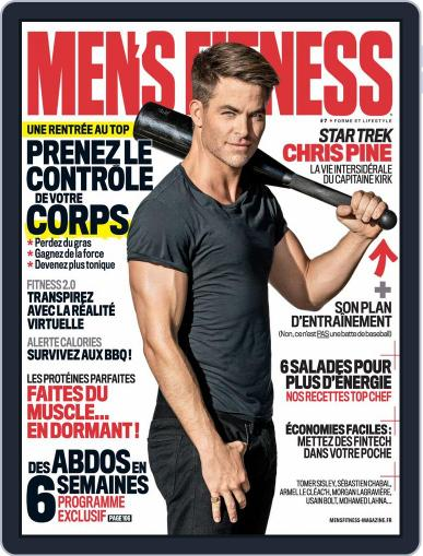 Men's Fitness - France August 10th, 2016 Digital Back Issue Cover