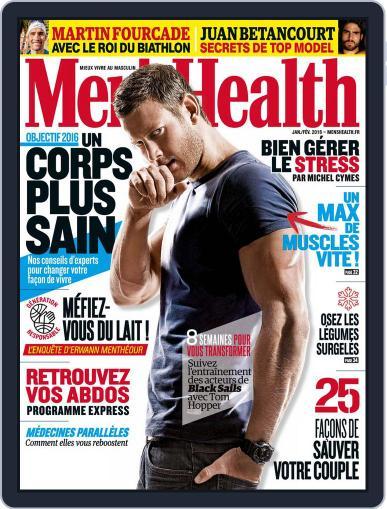Men's Fitness - France (Digital) December 28th, 2015 Issue Cover
