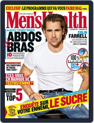Men's Fitness - France November 16th, 2015 Digital Back Issue Cover