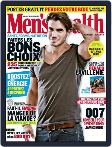 Men's Fitness - France (Digital) October 20th, 2015 Issue Cover