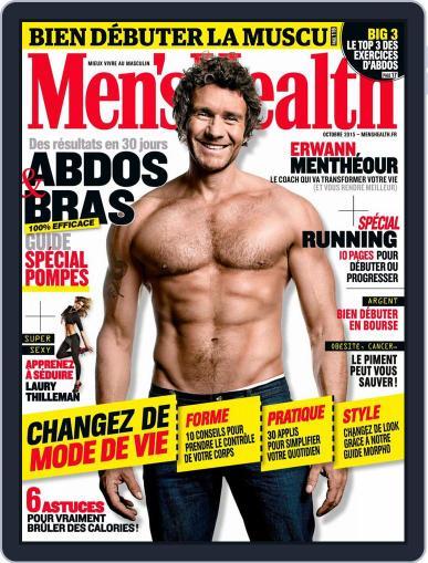 Men's Fitness - France (Digital) September 30th, 2015 Issue Cover