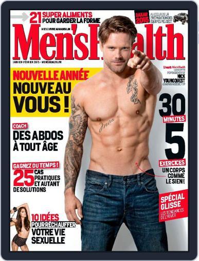Men's Fitness - France (Digital) December 31st, 2014 Issue Cover
