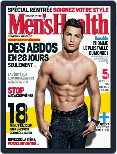 Men's Fitness - France (Digital) August 31st, 2014 Issue Cover