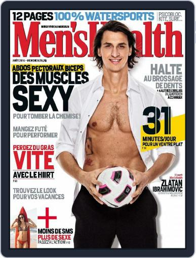 Men's Fitness - France July 31st, 2014 Digital Back Issue Cover