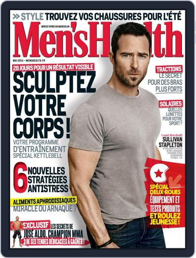 Men's Fitness - France (Digital) April 25th, 2014 Issue Cover