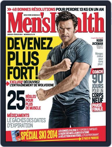 Men's Fitness - France (Digital) December 16th, 2013 Issue Cover