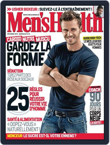 Men's Fitness - France November 20th, 2013 Digital Back Issue Cover