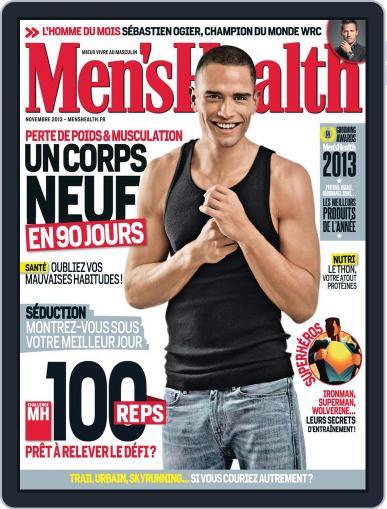 Men's Fitness - France (Digital) October 21st, 2013 Issue Cover