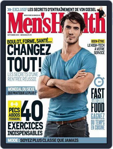Men's Fitness - France (Digital) August 20th, 2013 Issue Cover