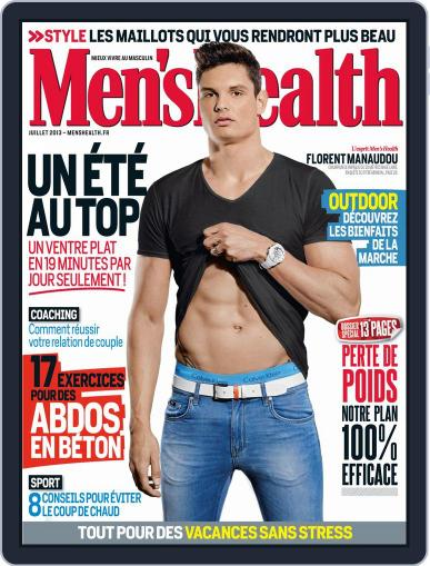 Men's Fitness - France (Digital) June 24th, 2013 Issue Cover