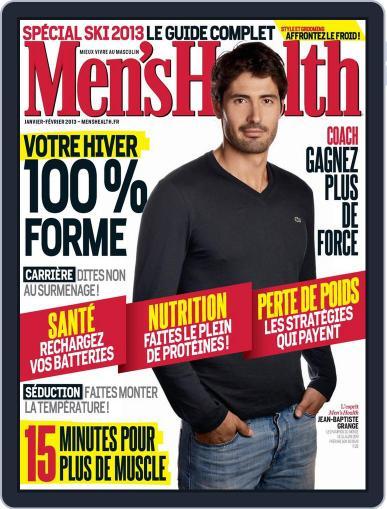 Men's Fitness - France (Digital) December 19th, 2012 Issue Cover