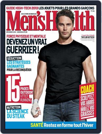 Men's Fitness - France (Digital) November 26th, 2012 Issue Cover