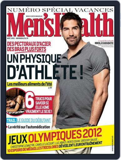 Men's Fitness - France July 27th, 2012 Digital Back Issue Cover