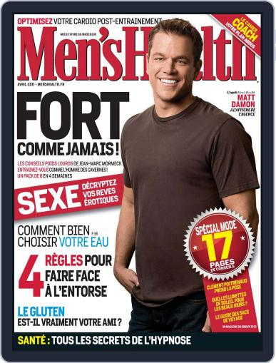 Men's Fitness - France March 22nd, 2011 Digital Back Issue Cover
