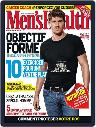 Men's Fitness - France (Digital) January 20th, 2011 Issue Cover