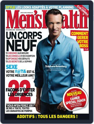 Men's Fitness - France (Digital) October 28th, 2010 Issue Cover