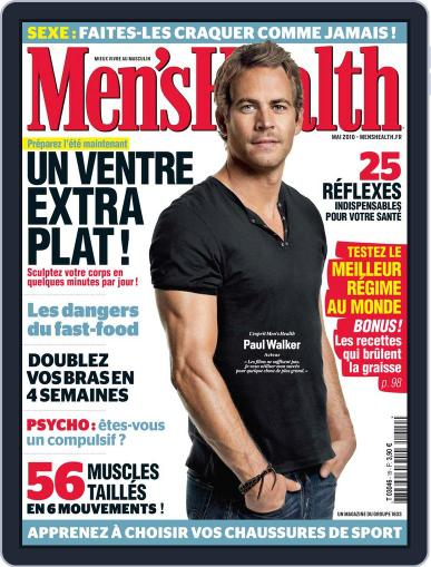 Men's Fitness - France (Digital) May 6th, 2010 Issue Cover