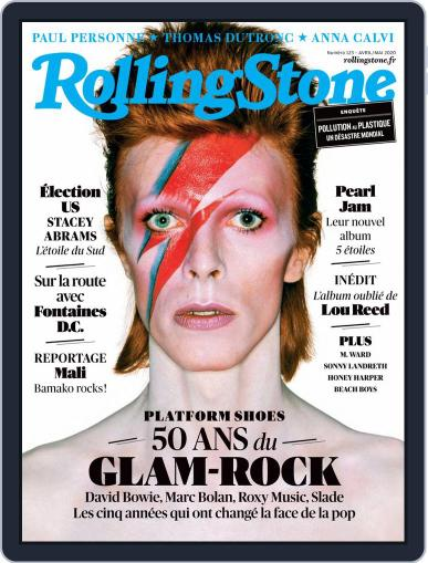 Rolling Stone France (Digital) April 1st, 2020 Issue Cover