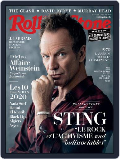 Rolling Stone France (Digital) January 1st, 2020 Issue Cover