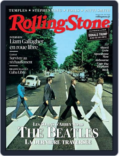 Rolling Stone France (Digital) October 1st, 2019 Issue Cover