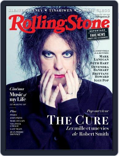Rolling Stone France (Digital) September 1st, 2019 Issue Cover