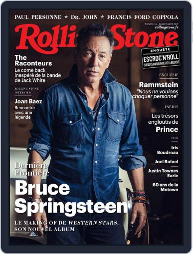 Rolling Stone France (Digital) July 1st, 2019 Issue Cover